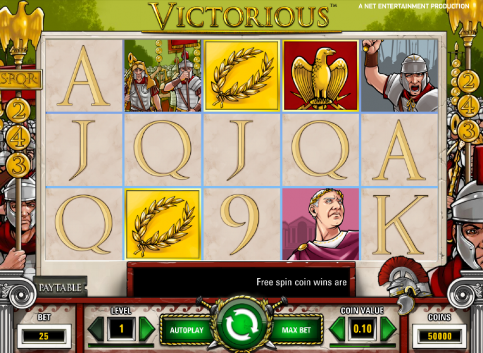 Victorious at touch lucky casino