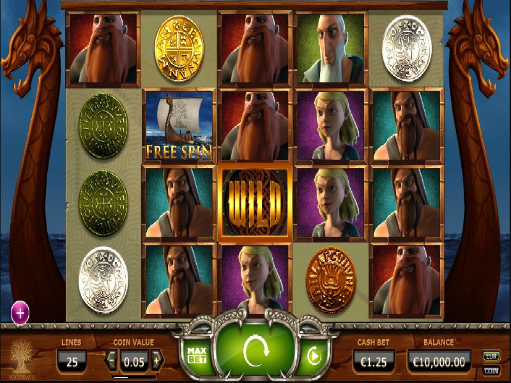 Vikings go Wild at spins royale