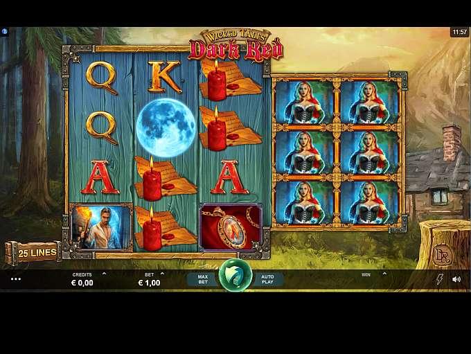 Wicked Tales: Dark Red at jackpot jones