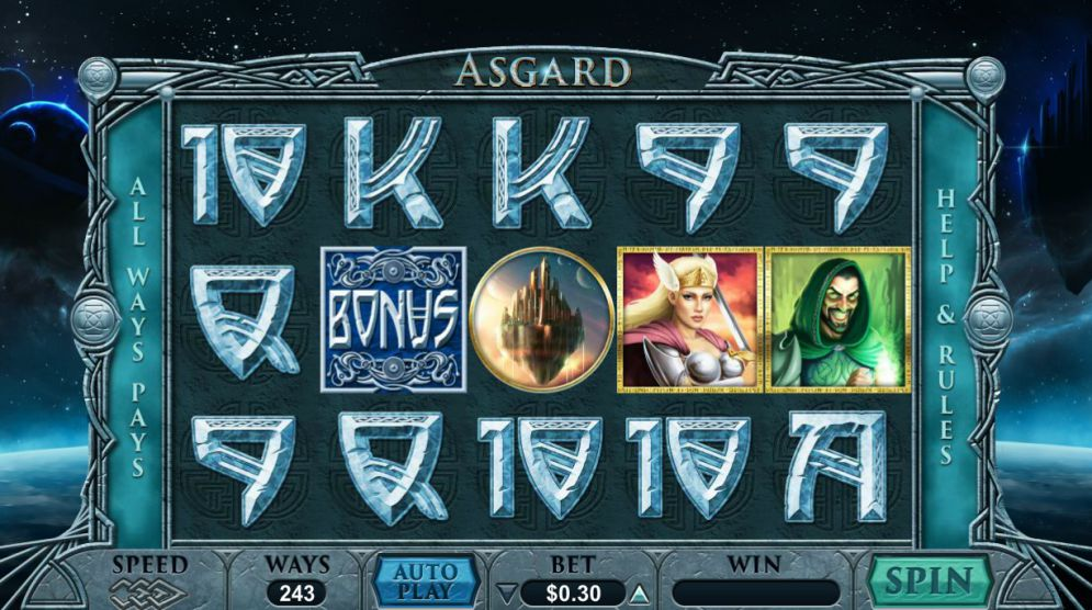 Asgard at dazzle casino