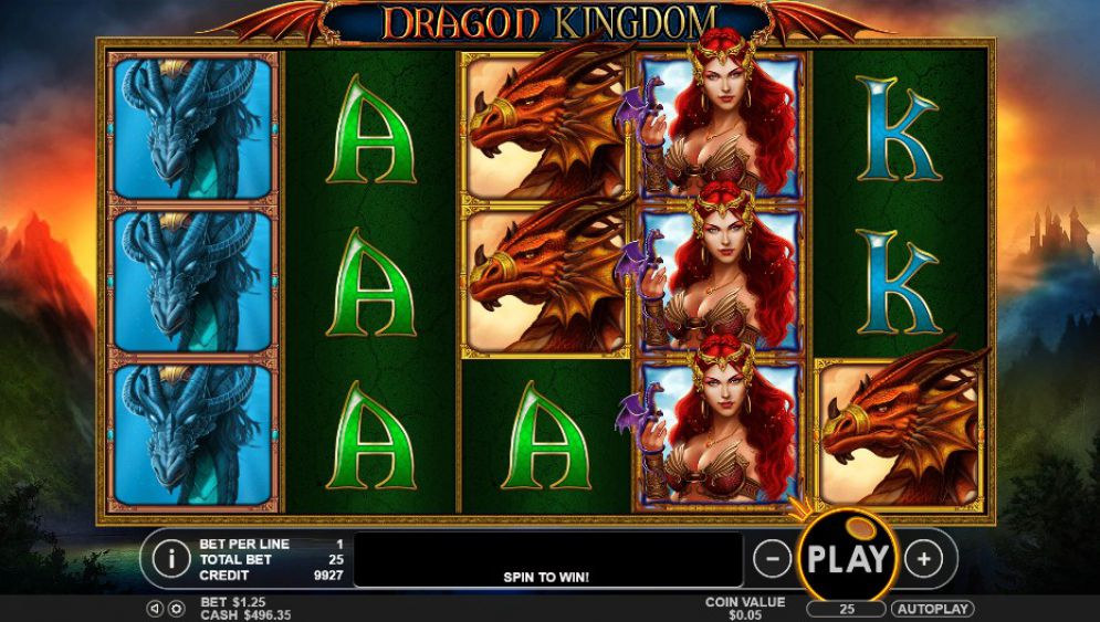 Dragon Kingdom at slots heaven