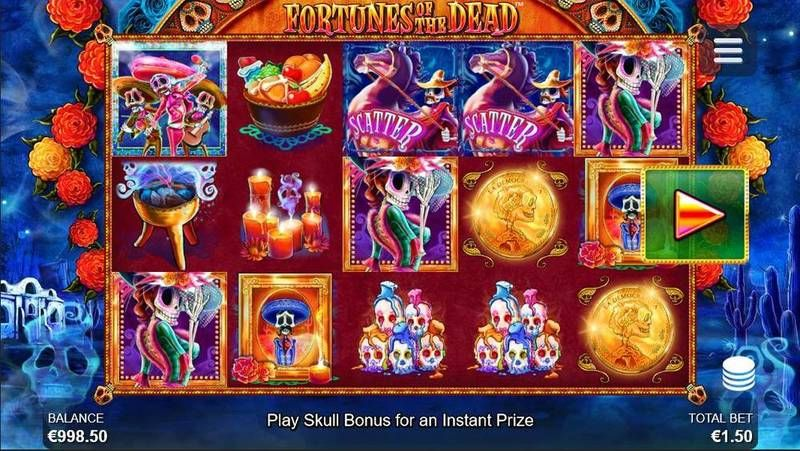 Fortunes of the Dead at dazzle casino