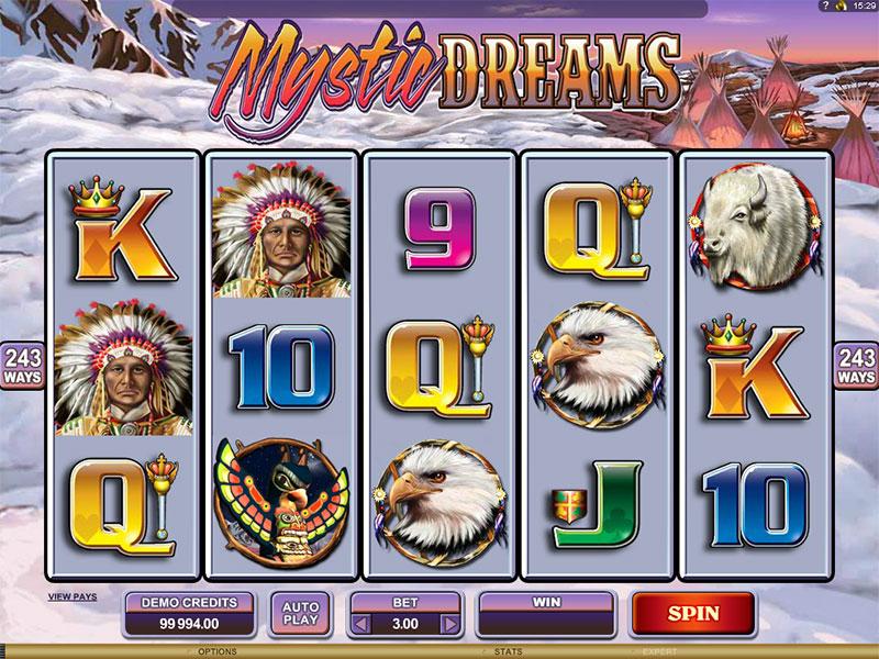 Mystic Dreams at genesis casino