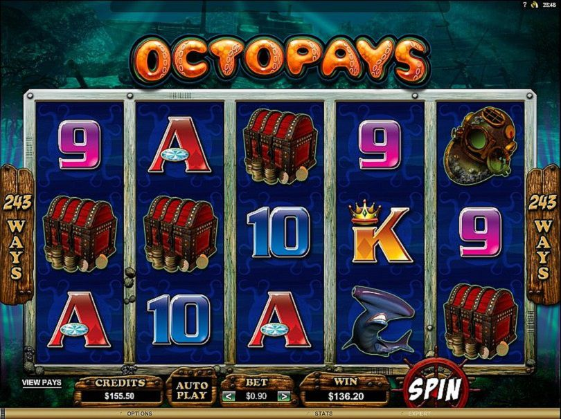 Octopays at dazzle casino