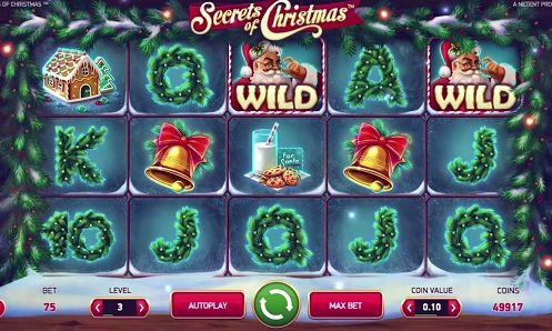 Secrets of Christmas at dazzle casino