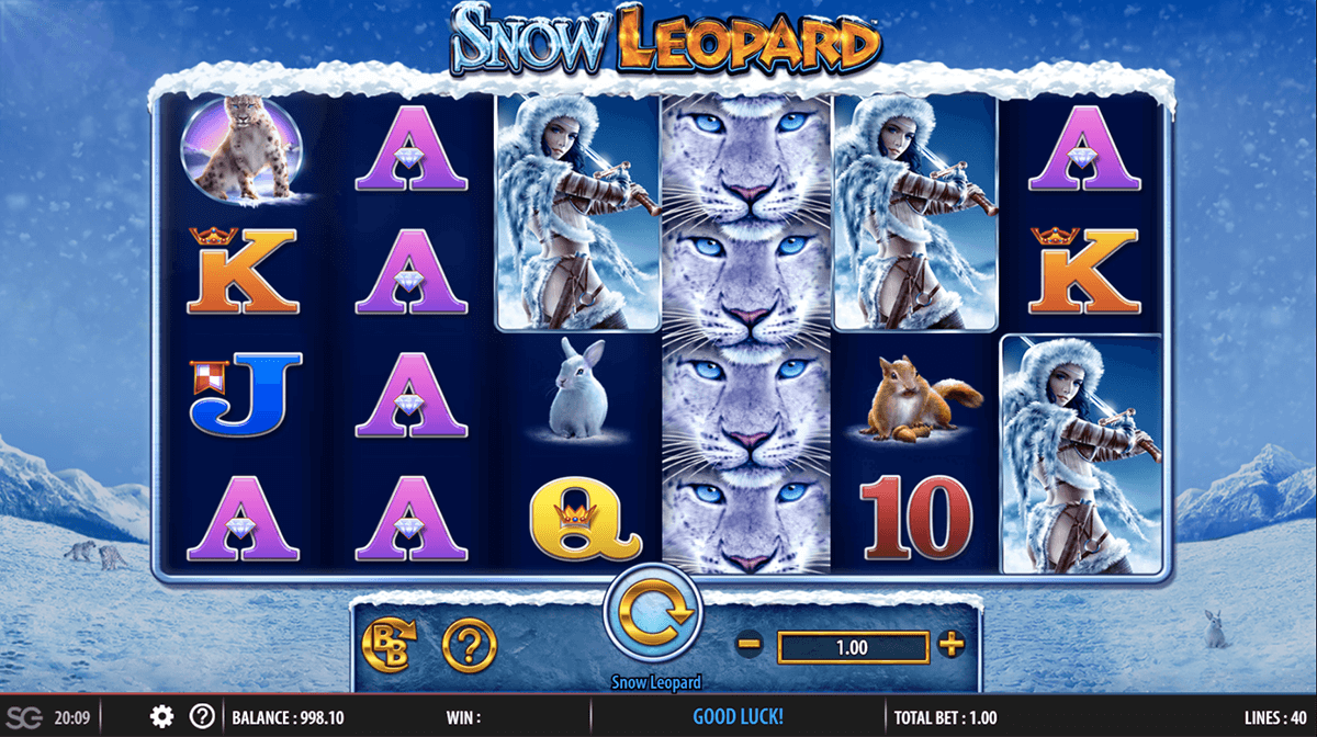 Snow Leopard at scorching slots