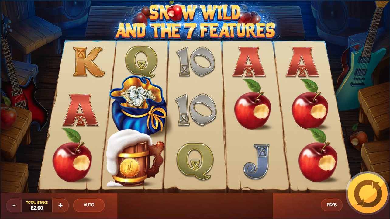 Snow Wild and the 7 Features at kerching casino