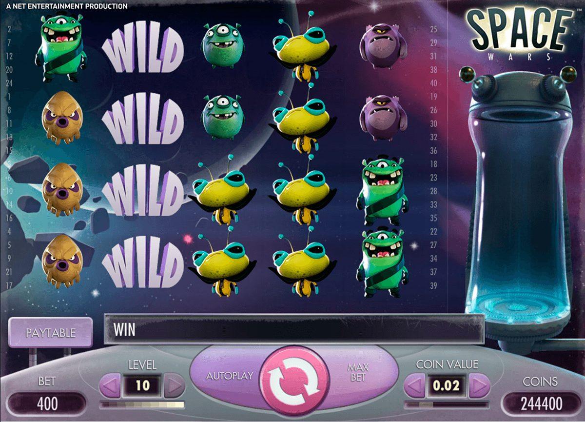 Space Wars at yeti casino