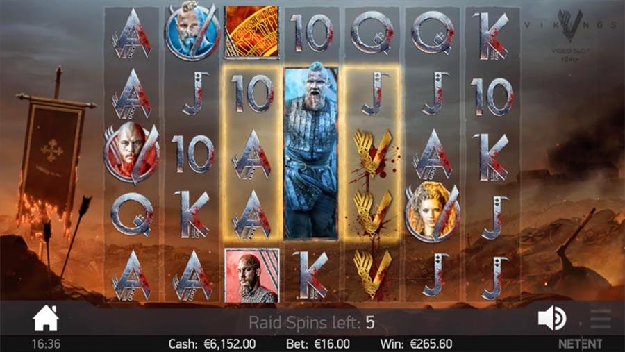 Vikings at conquer casino