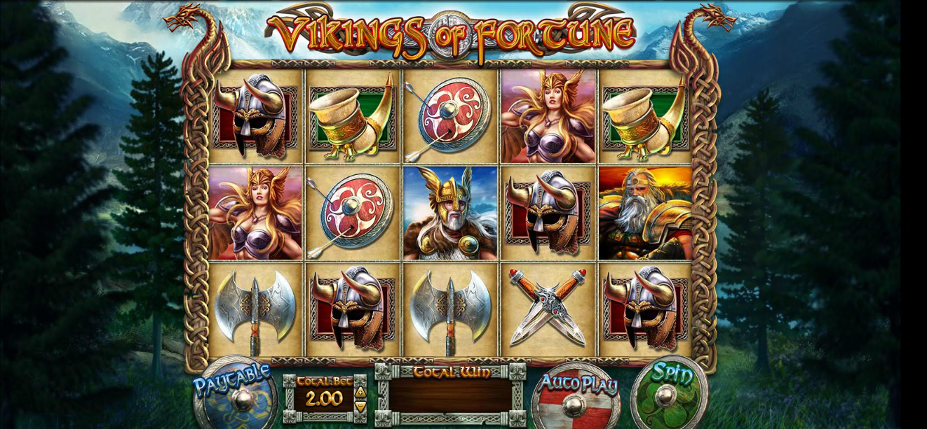 Vikings of Fortune at jackpot Mobile casino