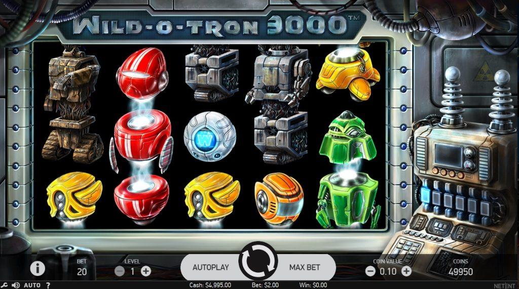 Wild-O-Tron 3000 at dazzle casino