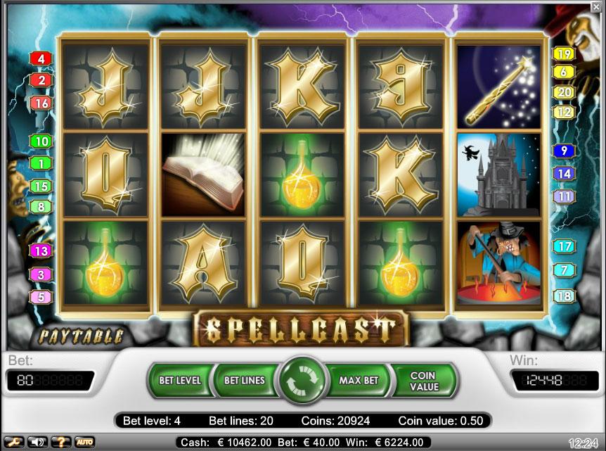 spellcast at netbet casino