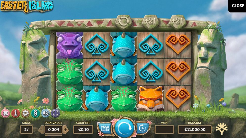 Easter Island at genesis casino