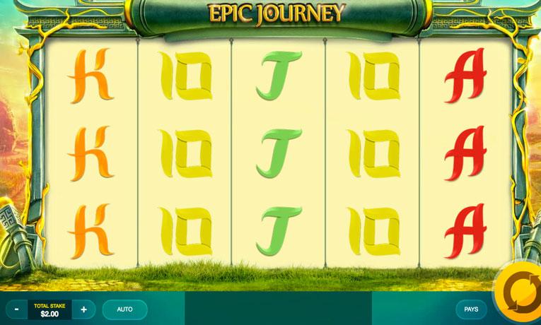 Epic Journey at chomp casino