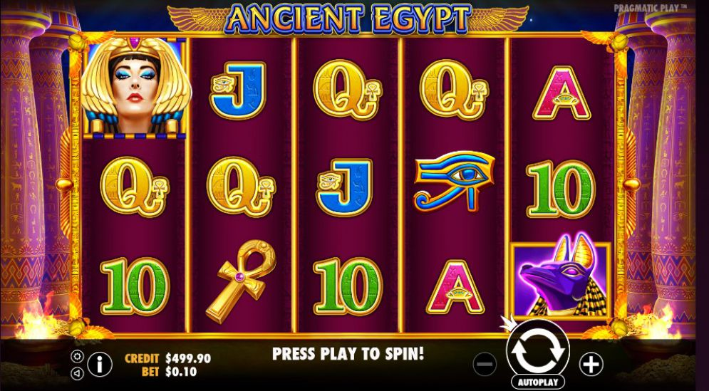 ANCIENT EGYPT at kerching casino