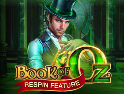 BOOK OF OZ RESPIN FEATURE at spins royale
