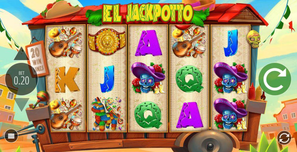 EL JACKPOTTO at all british casino