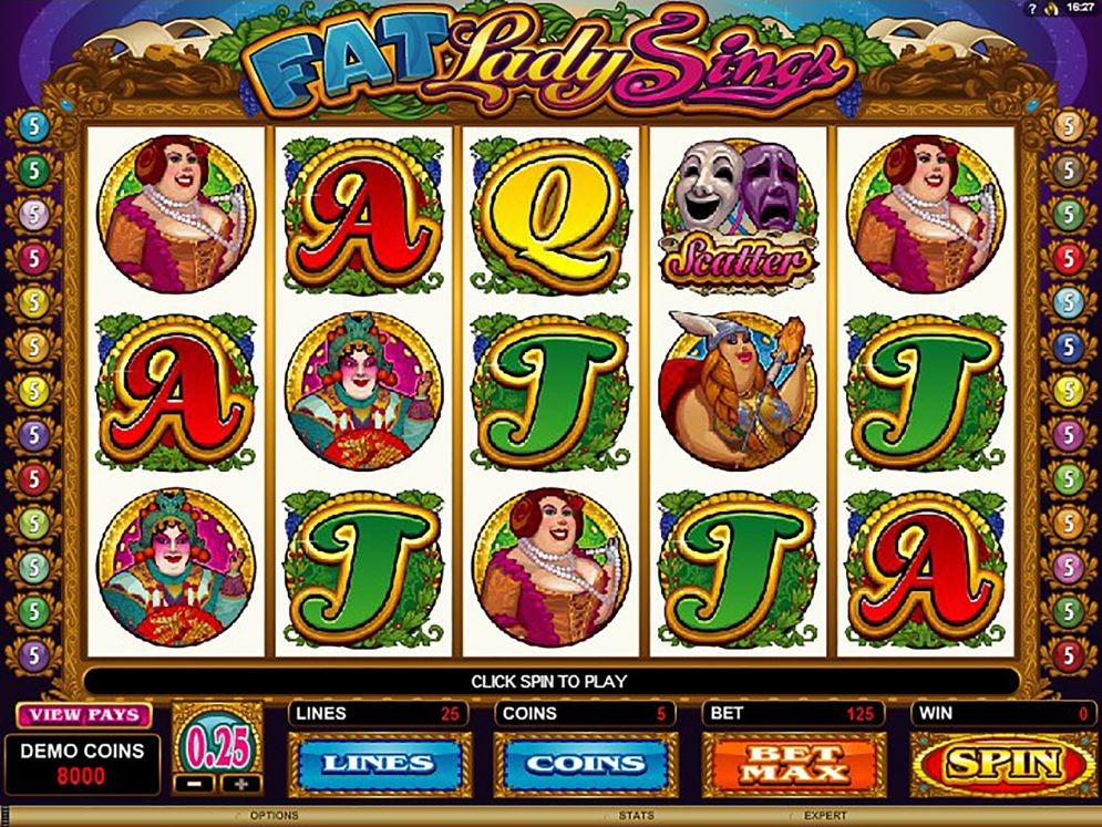 FAT LADY SINGS at conquer casino