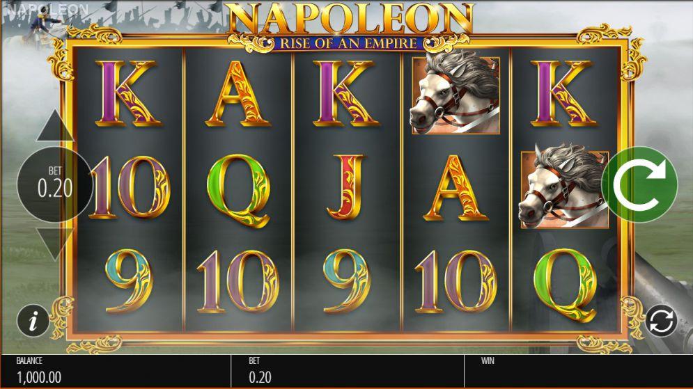 NAPOLEON: RISE OF AN EMPIRE at yeti casino