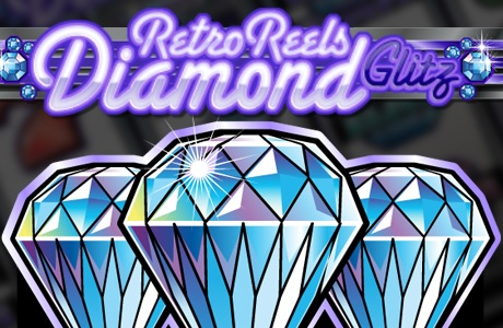 RETRO REELS DIAMOND GLITZ at dazzle casino