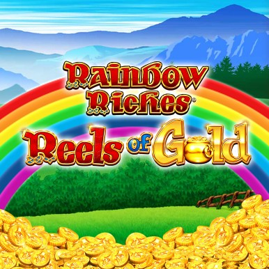 Rainbow Riches Reels of Gold at slingo