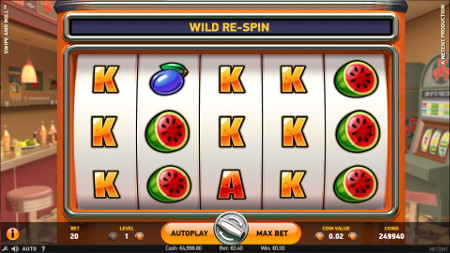 SWIPE AND ROLL at jackpot mobile casino