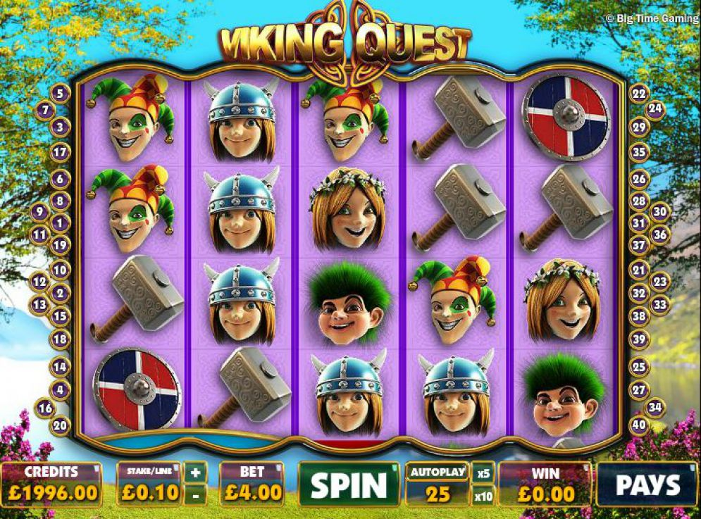 Viking Quest at glimmer casino