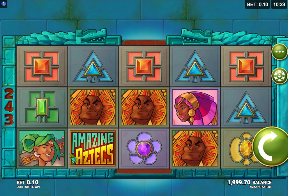 Amazing Aztecs at all british casino