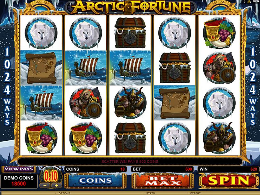 Arctic Fortune at dazzle casino