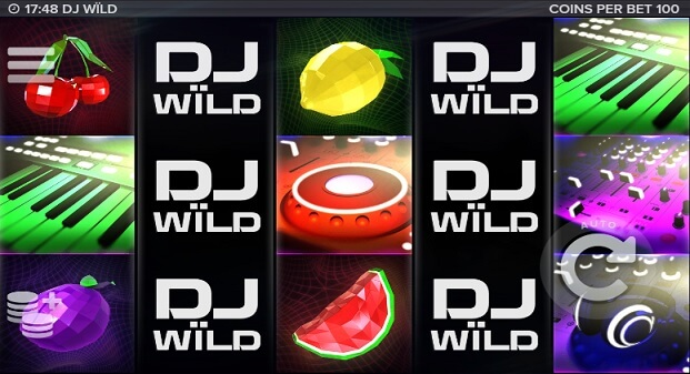 DJ Wild at all british casino