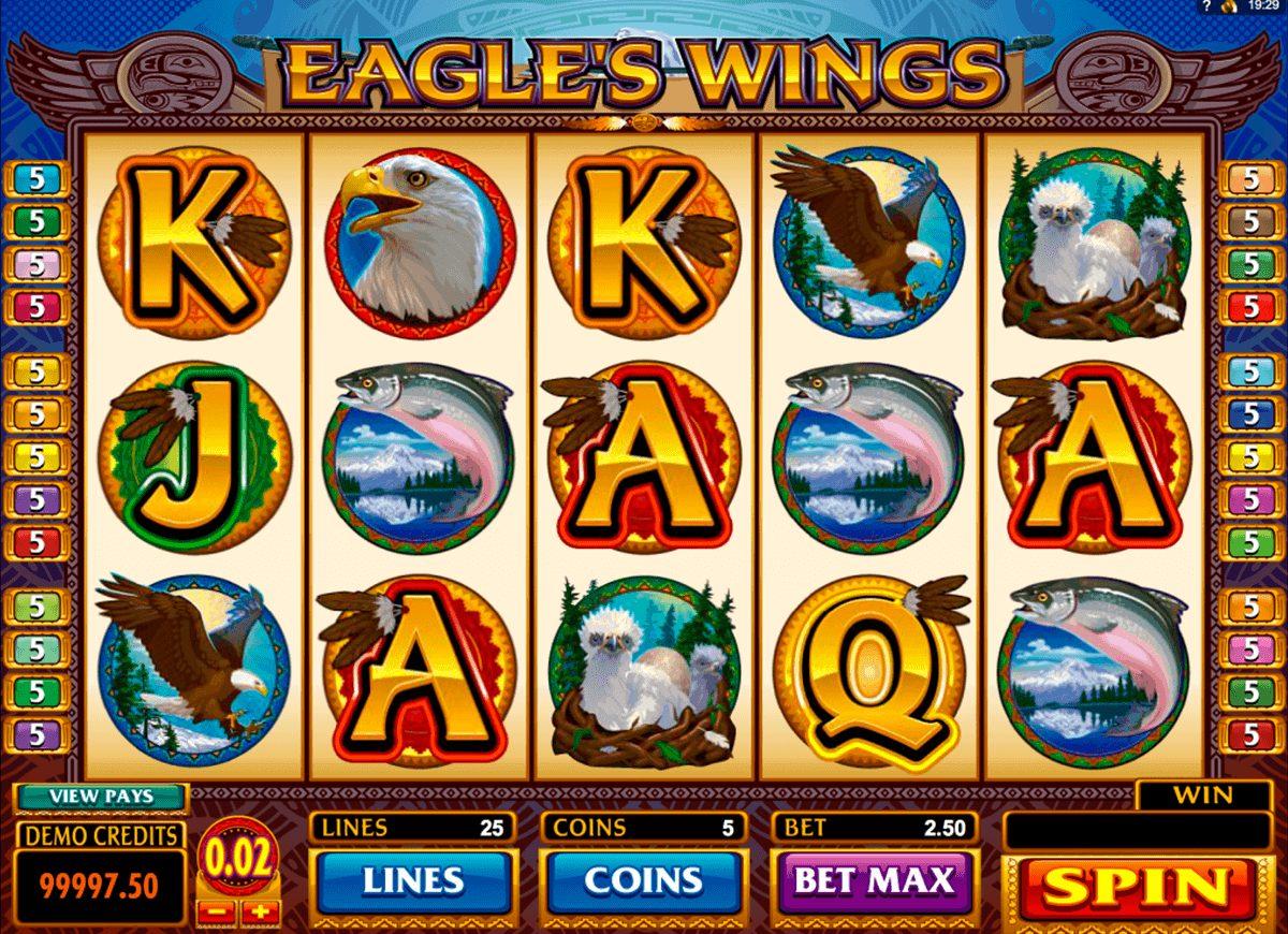 Eagles Wings at vegas paradise casino