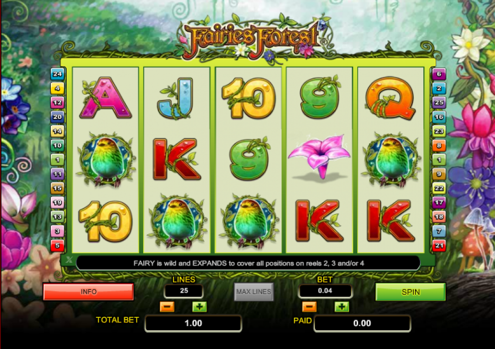 Fairies Forest at genesis casino