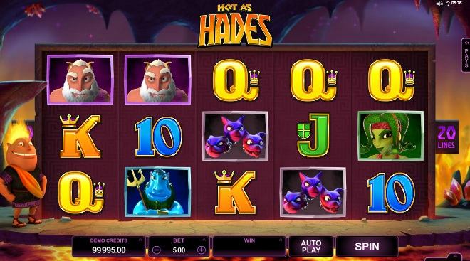 Hot as Hades at vegas paradise casino