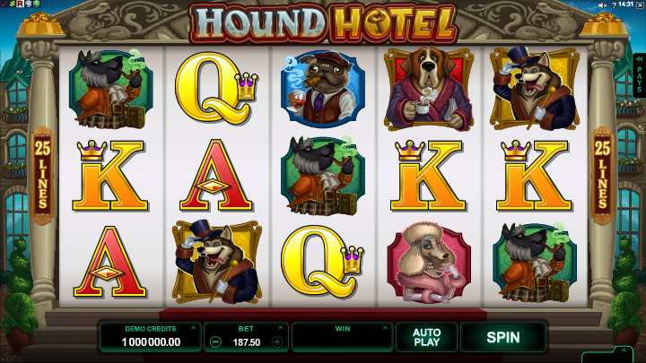 Hound Hotel at genesis casino