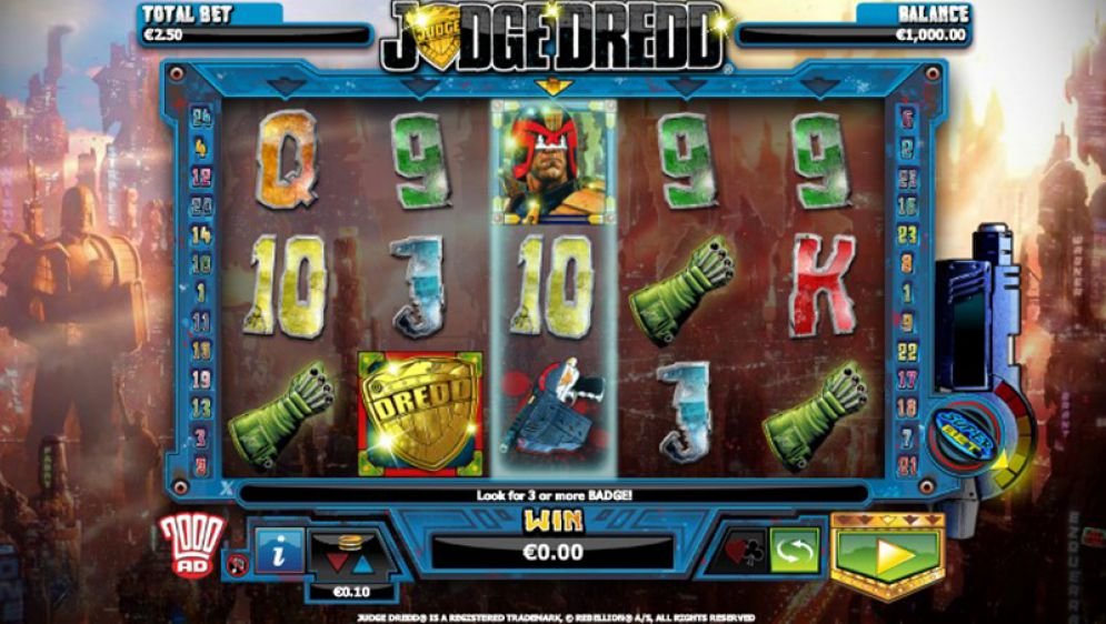 Judge Dredd at oreels