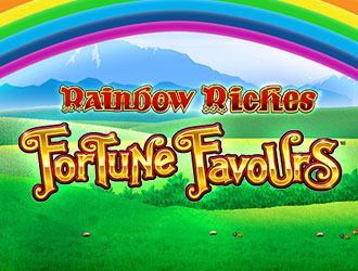 Rainbow Riches Fortune Favours at sapphire rooms
