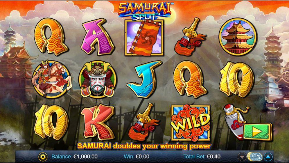 Samurai Split at oreels