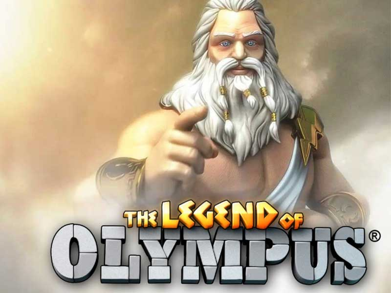 The Legend of Olympus at dazzle casino