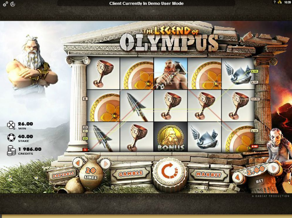 The Legend of Olympus at oreels