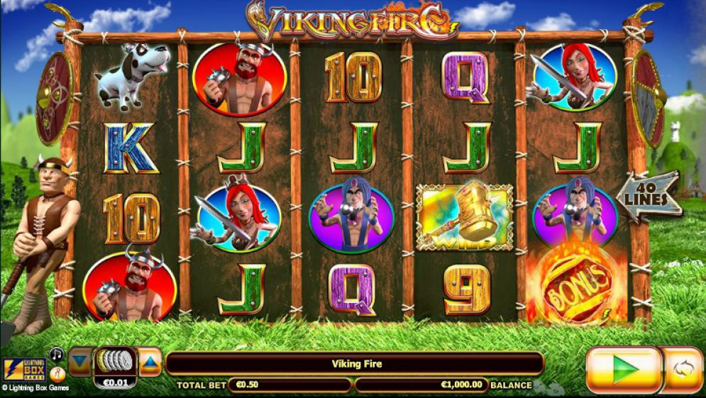 Viking Fire at fruity king