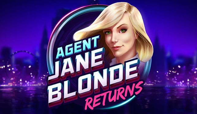 Agent Jane Blonde Returns at dazzle casino