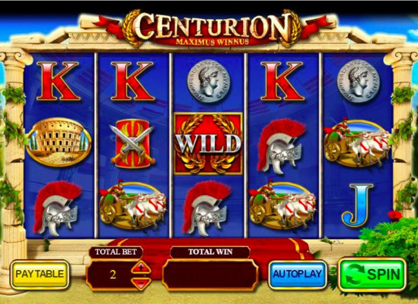 Centurion at conquer casino