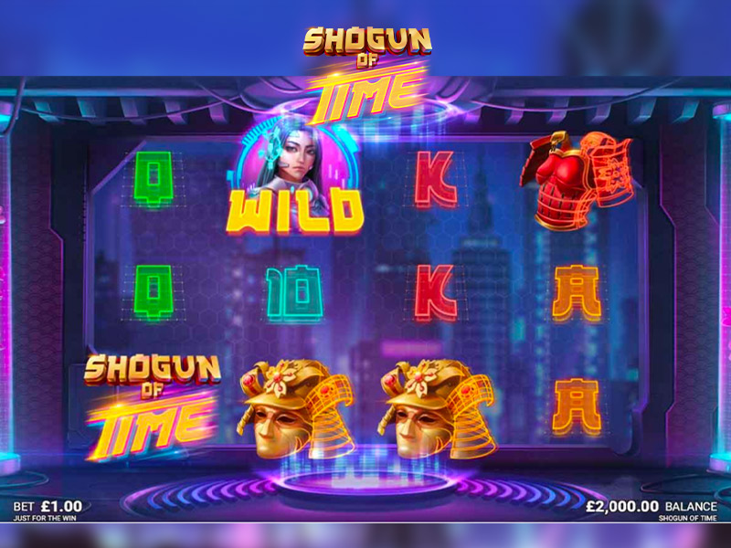 Shogun of Time at genesis casino