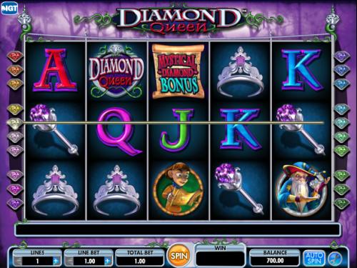 Diamond Queen at netbet casino