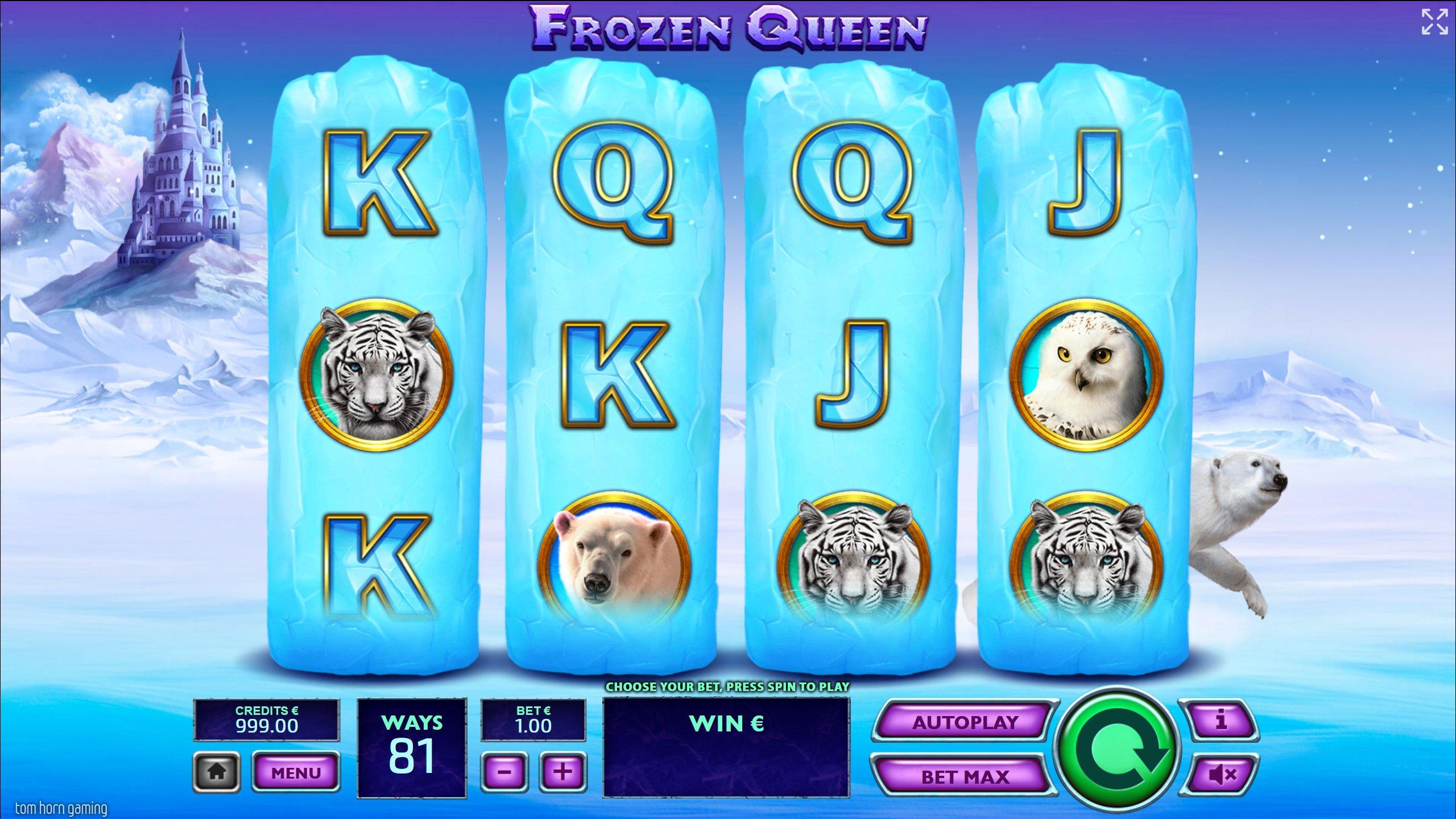 Frozen Queen at netbet casino
