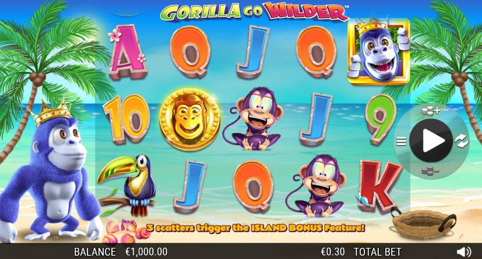 Gorilla go Wilder at scorching slots