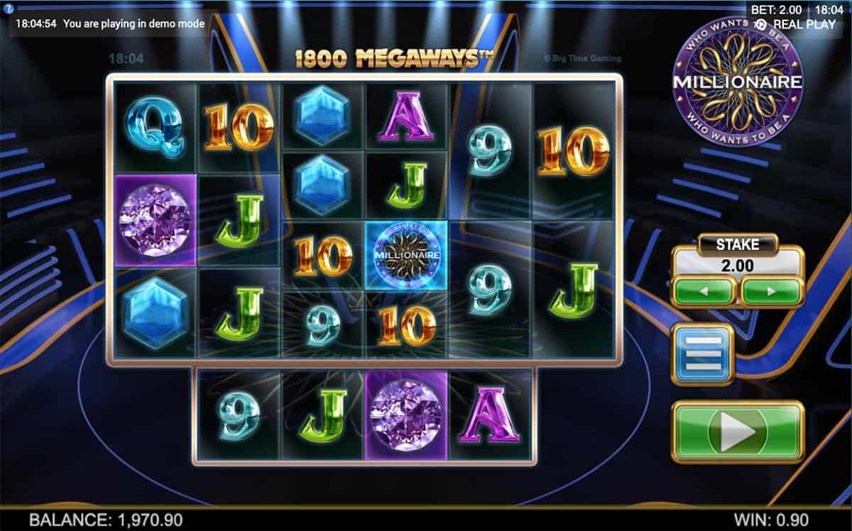 Who Wants to be a Millionaire Megaways at netbet casino