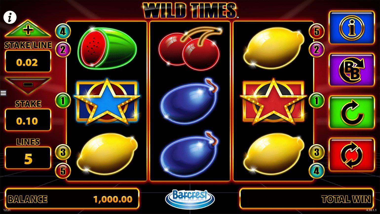 Wild Times at netbet casino