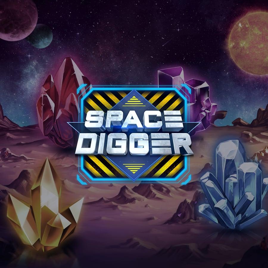 Space Digger at casino.com