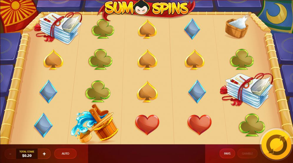 Sumo Spins at sapphire rooms